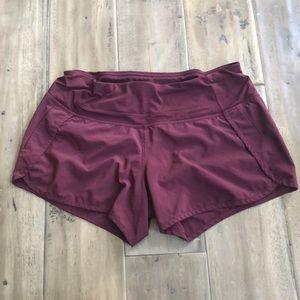 Lululemon woman's shorts